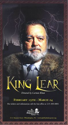 2002 Lear Poster by phillyshakes, via Flickr