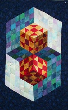 Cube2 pattern by Karen Combs