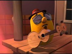 VeggieTales: The Blues with Larry - Silly Song So funny! I don't Care about NO COOKIE!