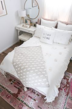 Bedroom Makeover Reveal - Money Can Buy Lipstick - Bedroom Makeover . - Bedroom Makeover Reveal – Money Can Buy Lipstick – Bedroom Makeover Reveal – Money Can Buy Li - Simple Bedroom Decor, Cozy Bedroom, Home Decor Bedroom, Girls Bedroom, Bedroom Furniture, Modern Bedroom, Guest Bedrooms, Bedroom Decor For Small Rooms, Stylish Bedroom