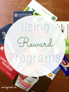 With so many different rewards programs, it can be overwhelming. Read more to find ways to break it down and make it easier to save money.