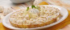 Receita de Tarte de limão com suspiros. Descubra como cozinhar Tarte de limão com suspiros de maneira prática e deliciosa com a Teleculinaria!