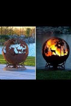 Fire Pit! So Cool!