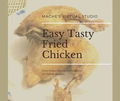 Easiest fried chicken you can try! You won't get enough! Virtual Studio, Picky Eaters, Kid Friendly Meals, Fried Chicken, Stuffed Mushrooms, Tasty, Kids, Food, Travel