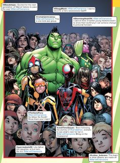 Glenn Walker reviews recent #MarvelComics in the #Avengers family of titles  https://biffbampop.com/2016/12/28/what-makes-an-avenger-reviewing-the-new-avengers-and-the-new-champions/