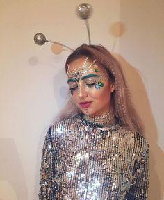 Alien jewels and glitter