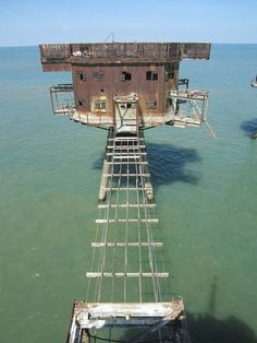 Redsands WWII Maunsell Sea Forts by ricksphotos101, via Flickr