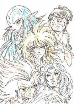 Les légendaires, le plus grand groupe de héros d'Alysia!