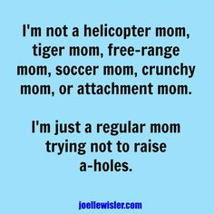 I'm an awesome mom and that's all that matters! Thank goodness she's not an A-hole! Shame Quotes, Funny Quotes, Bad Mom Quotes, Life Quotes, Being A Mom Quotes, Mom Qoutes, Clever Quotes, Mother Quotes, Real Life