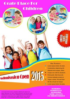 Admission School Flyers - Sample | school flyer templates ...