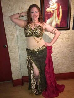 One of a kind for Oriana Bellydance by Klein Dance Creations