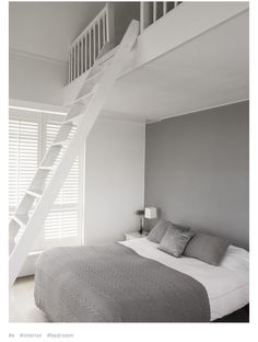 double bed with loft
