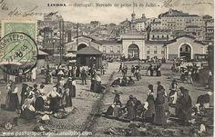 Lisboa - Mercado de peixe 24 de julho