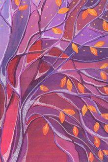 Violetti syyspuu - kivaa vaihtelua