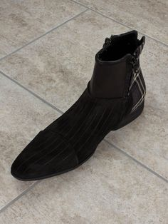 FW2015 Giada Gabrielli #Brown #Suede #Boots #MadeInItaly