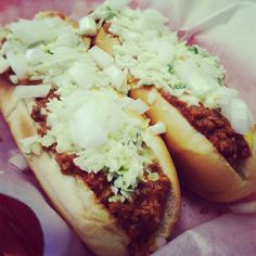 "In West Virginia, a hot dog ""with everything' means chili, onions, mustard, and SLAW. Slaw is very important to us."