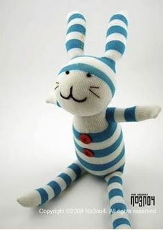 sock animal for puppet toy