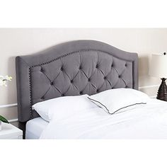 Abbyson Hillsdale Tufted Grey Velvet Headboard Queen/full... https://smile.amazon.com/dp/B07425S8K7/ref=cm_sw_r_pi_dp_x_gytFzbB36DHPT