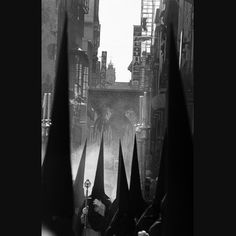 SEMANA SANTA IN SEVILLA (Spain, 1995)    For centuries the Spanish city of Seville has held processions in Holy Week, preceding Easter.
