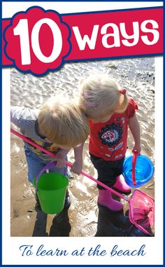 Top 10 ways to learn at the beach this summer