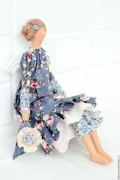 Куклы Тильды ручной работы. Текстильная кукла Элиза. Ангел.. Любовь Букало. Интернет-магазин Ярмарка Мастеров. Кукла Тильда