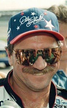 Still miss Dale Sr. Favorite driver of all time!!! A kind man behind the badass persona!!!!