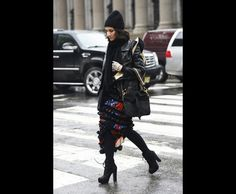 cha cha cha! (Tommy Ton Shoots the Street-Style Scene at the Fall 2013 Shows)
