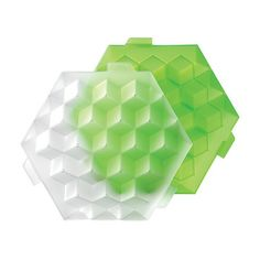 Cubic Ice Tray Green, $18, now featured on Fab.