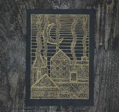 Paper Dimensions, Linocut Prints, Line Art, Best Gifts, Smoke, Ink, The Originals, Handmade Gifts, Artist
