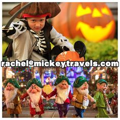 Tickets are now on sale for the special holiday parties at the Walt Disney World Resort! If you've never attended Mickey's Not-So-Scary Halloween Party or Mickey's Very Merry Christmas Party, be sure to contact me today! Rachel@mickeytravels.com