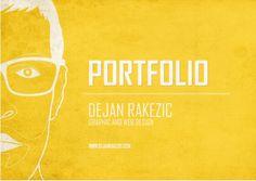 simple portfolio cover - Google Search