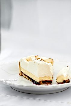 White Chocolate Almond Tart