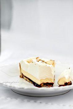 white chocOlate almond tart