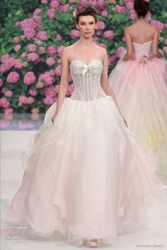 Adorable Lovely Pink Wedding Gown Color Ideas For Beautiful Bride (25+ Best Ideas)  https://oosile.com/lovely-pink-wedding-gown-color-ideas-for-beautiful-bride-25-best-ideas-16961