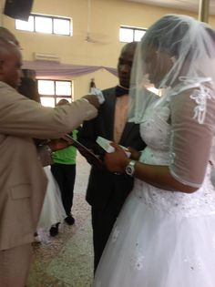 Congratulations Nkoli and Sunny