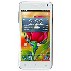 """X1 4.5"""" Android 4.2 2G Smartphone(QHD Screen,1.2GHz Dual Core,RAM 512MB,ROM 4GB) – USD $ 79.99"""