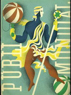 Publimondial: PUBLIMONDIAL. Revue international des arts graphiques. Nº 9 Published by Paris: Art et Publications, -, 1947 signée Ternat