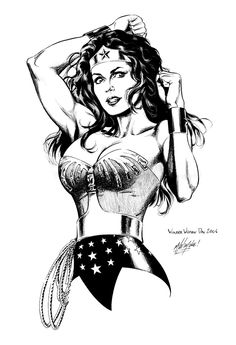 Wonder Woman Day 2006 piece by ~yelahttam