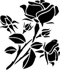 Image result for трафарет Декор розы