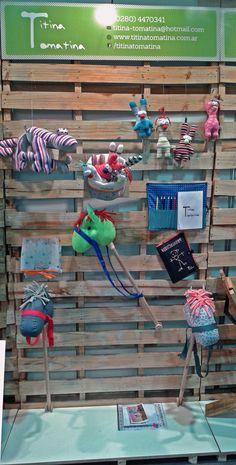 TITINA TOMATINA: Stand Nº 659 dedicado a Eco-diseño Infantil y Emprendedores infantiles