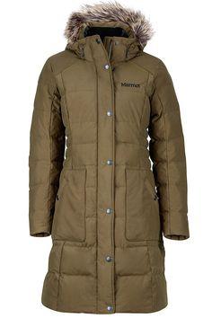 Wm's Clarehall Jacket, Deep Olive, large