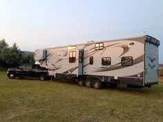 This beautiful #Cyclone #Toyhauler pic came in today from the Case family.  Thanks for sharing! #MyHeartland