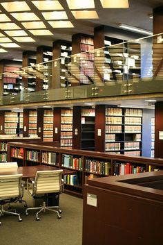 D'Angelo Law Library at the University of Chicago Law School