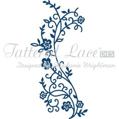 Tattered Lace Blossoming Flourish Die