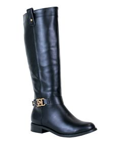 Love this Black Berry Boot by Reneeze on #zulily! #zulilyfinds