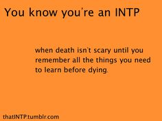 INTP - (Ti-Ne-Si-Fe) Please send in any asks or submissions that you might have. Remember, this is a page for the INTPs, by an INTP. No copyright infringement intended. Intp Personality Type, Myers Briggs Personality Types, Personality Quizzes, Intj Intp, Introvert, Myers Briggs Intp, Intp Female, Psychology Quotes, So Little Time
