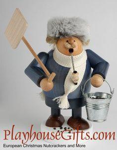2012+KWO+Snow+Shoveler+Villager+Incense+Smoker