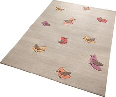 Kinder-Teppich, ESPRIT, »Birdie«, handgetuftet
