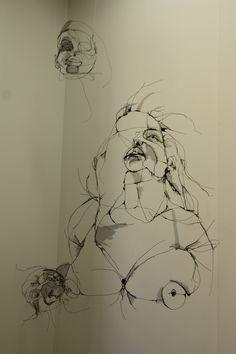 Escultura de David Oliveira, Galería Pedro Serrenho. #JUSTMAD, Madrid, febrero ' 11. http://davidmigueloliveira.blogspot.com