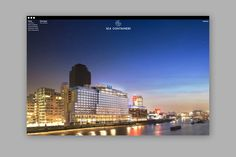 Sea Containers. Rebranding a London landmark. Proposed website - dn&co.